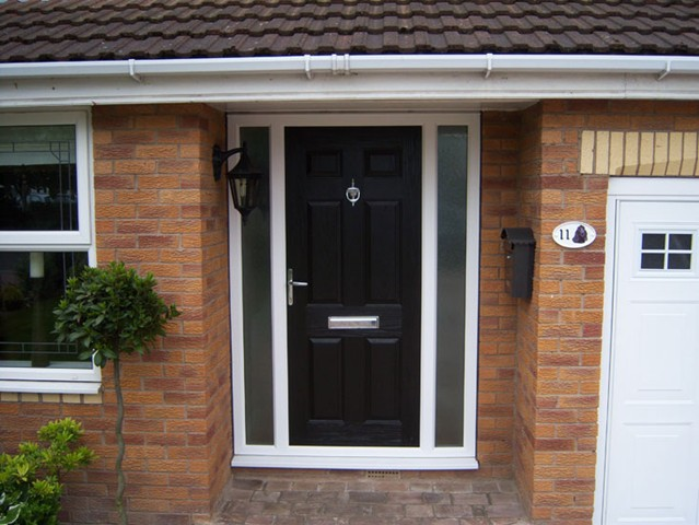 Amberwood conservatories contemporary conservatory for Composite front doors